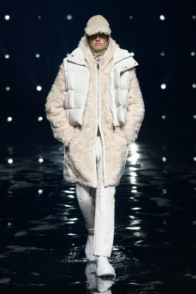 Robin Genissel Givenchy fall winter 2021.22 fashionshow