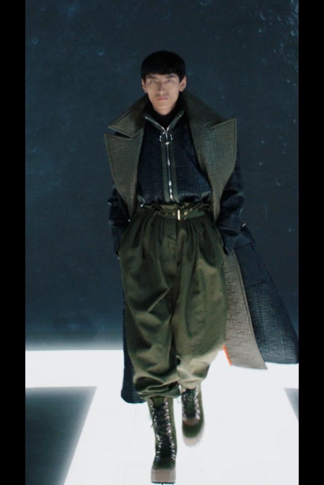David Ge Balmain Fall Winter  2021.22 FashionShow