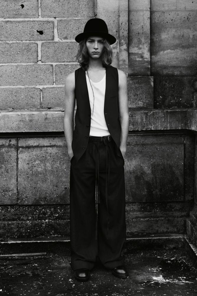 Cosme Voisin Ann Demeulemeester fall winter 2021.22 fashion show