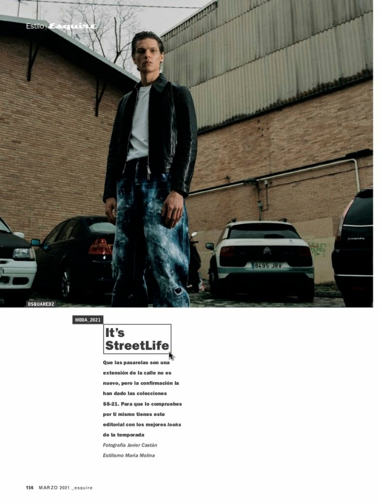 Valentin Caron Esquire Spain March 2021 It's Street Life