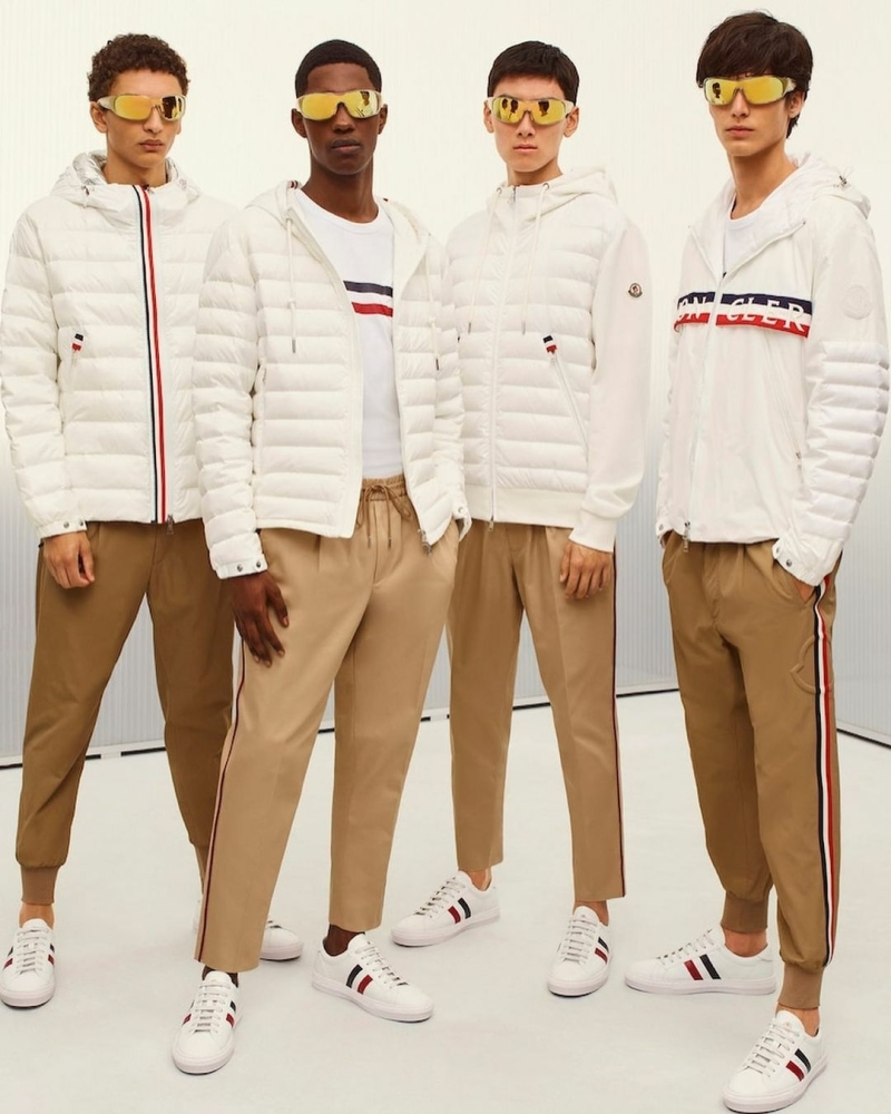 David Ge and Jethro Sapon for Moncler Spirng Summer 2021 Collection