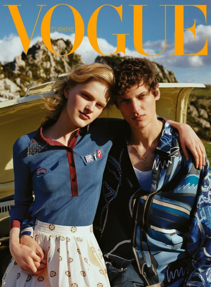 Valentin Caron for Vogue Turkey April 2021 by Tugberk Acar styled by Ece Öğütoğulları