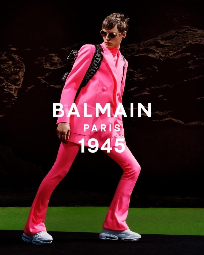 Braien Vaiksaar for Balmain Spring Summer 2021 Campaign
