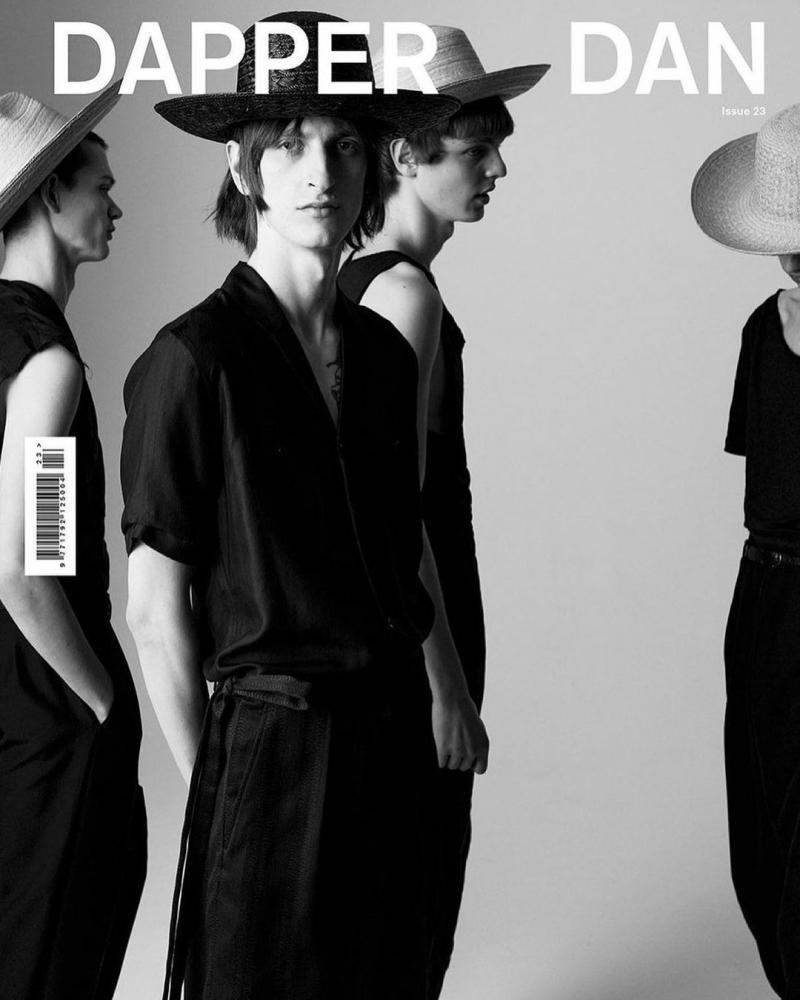 Theodor Pal for Dapper Dan Magazine Cover 23