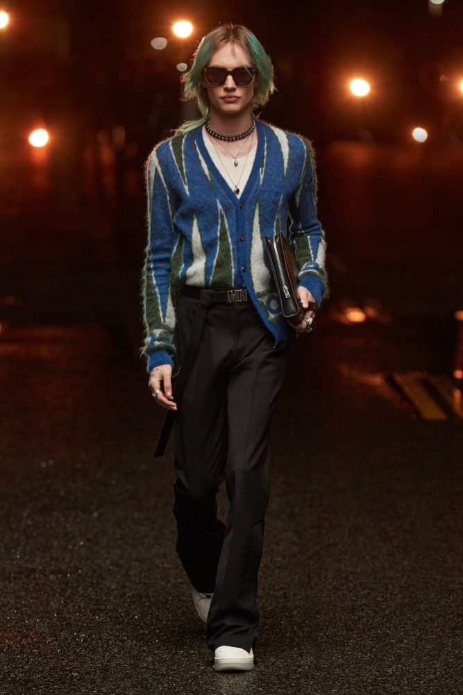 Amiri Fashionshow 2021.22 Reilly Patton