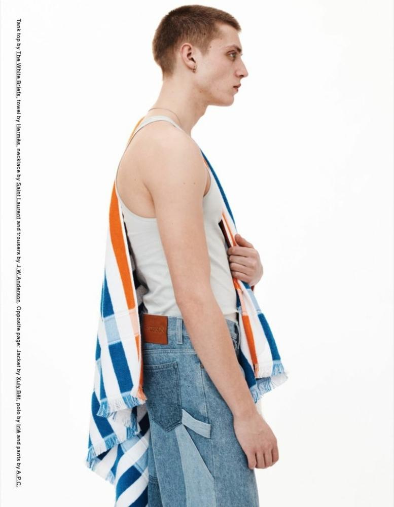 Tom Rey for Double Magazine Greek Profile April 2021