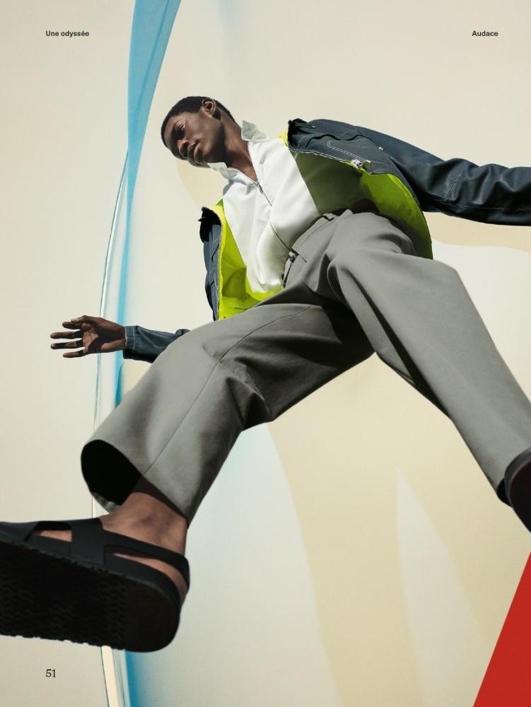 Grace Musase for Le Monde D'Hermès Spring Summer 2021