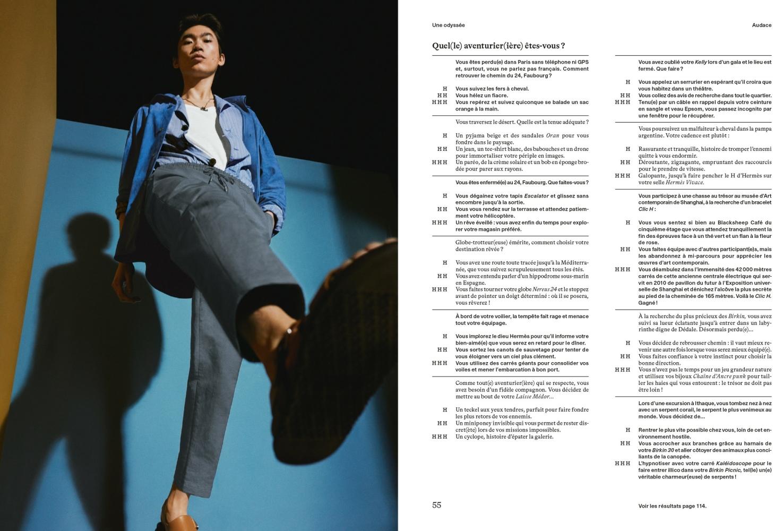 Hidetatsu Takeuchi for Le Monde D'Hermès Spring Summer 2021