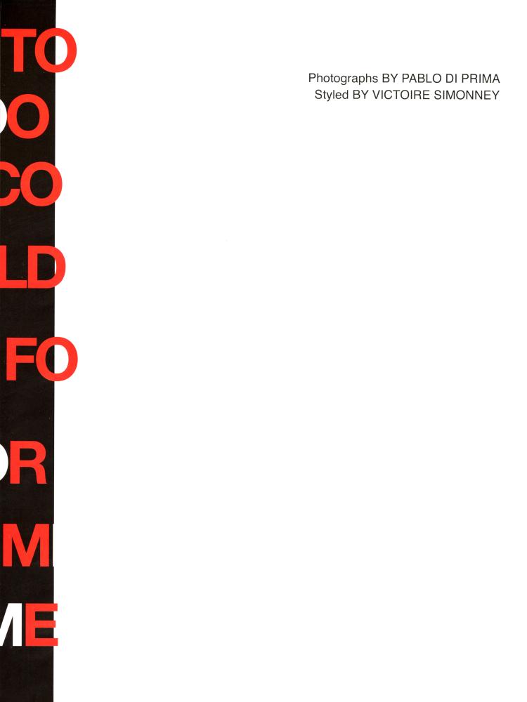 Youssef Bouzamita, Ruben Boa and Zacharie Villot for Replica Man issue 9 Summer Autumn 2021