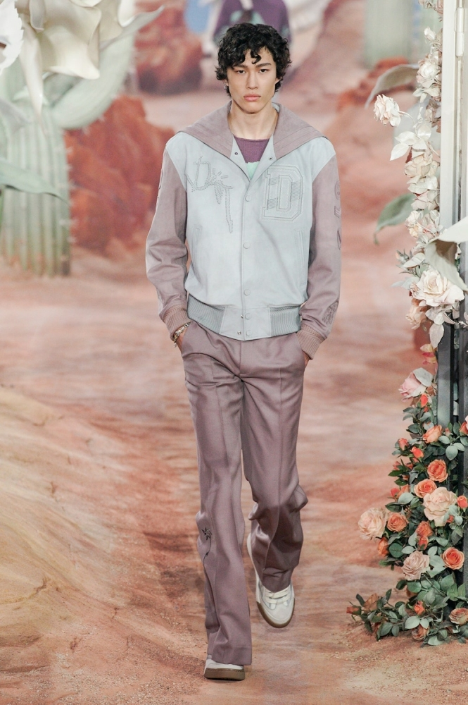 Mathieu Simoneau PFW Dior ss22