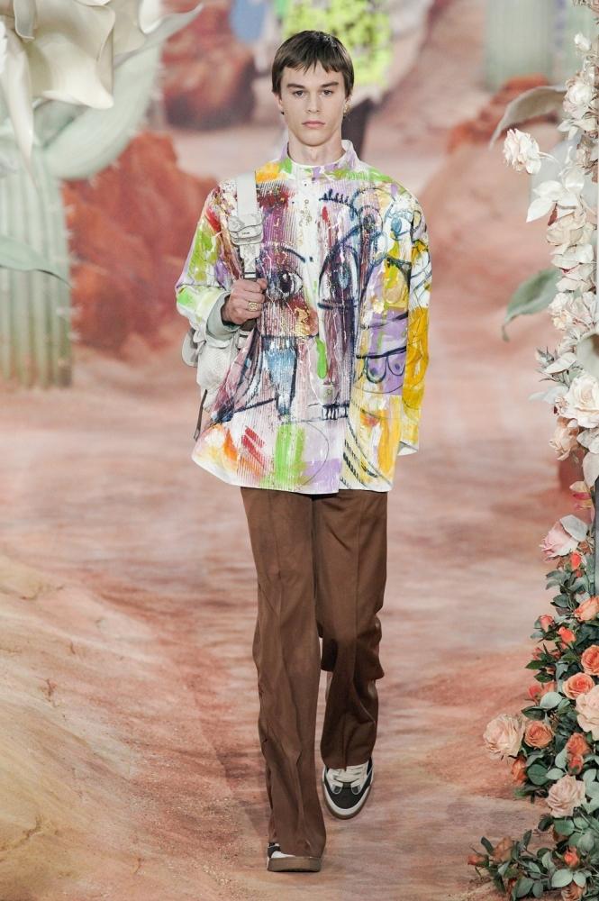 Milo Dieudonné PFW Dior ss22