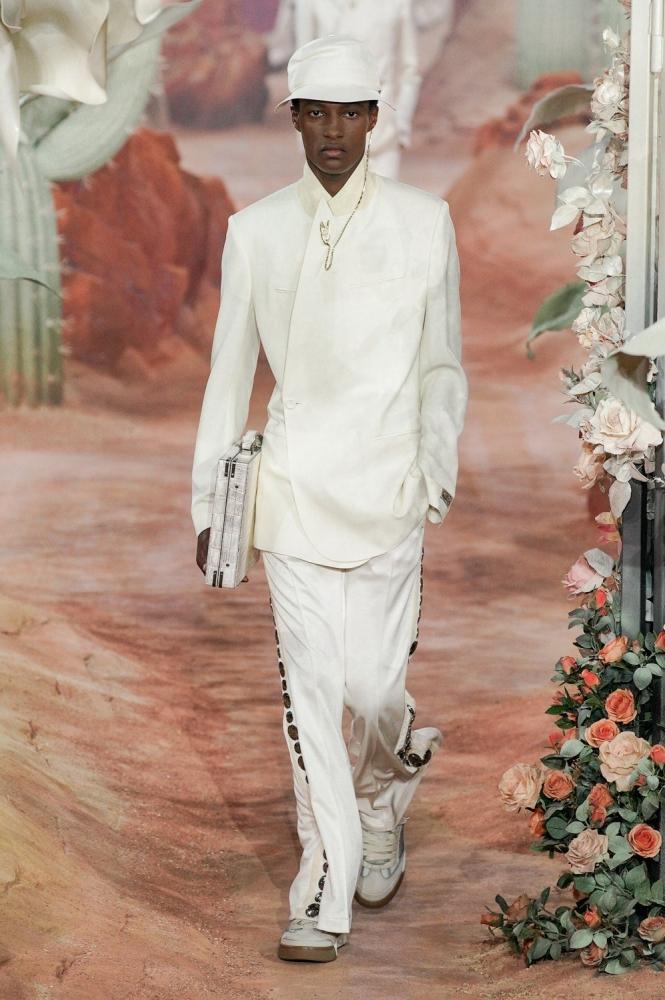 Aboubakar Konte PFW Dior ss22
