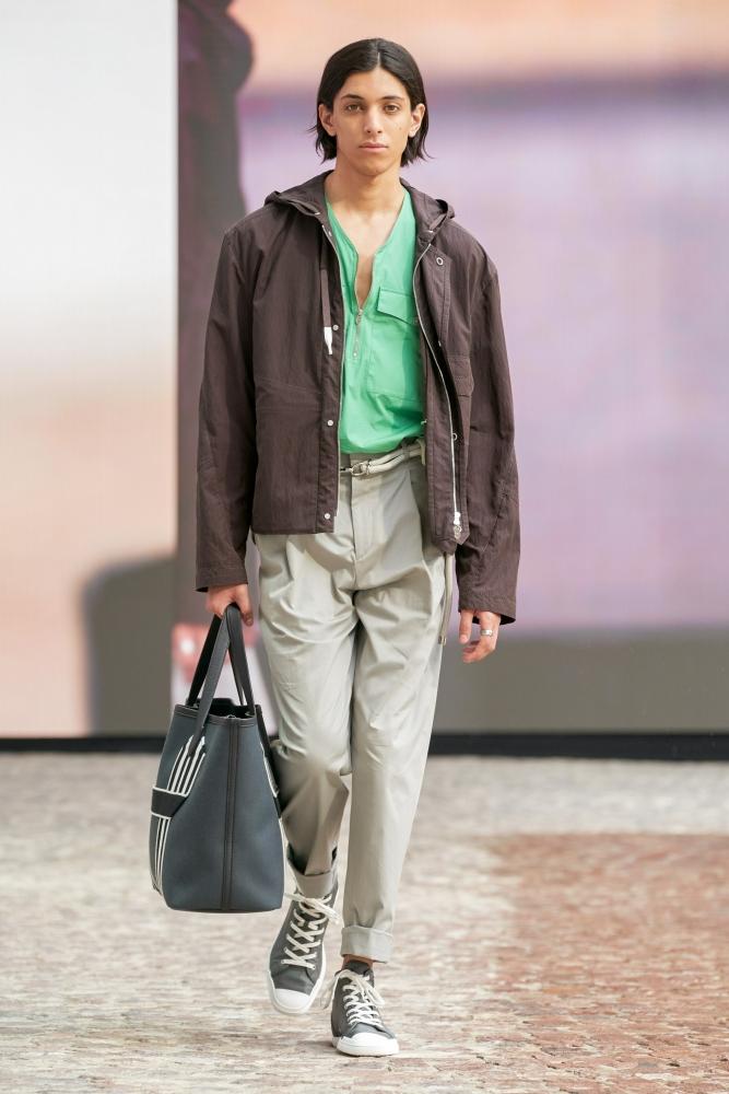 Youssef Bouzamita Hermès PFW SS22