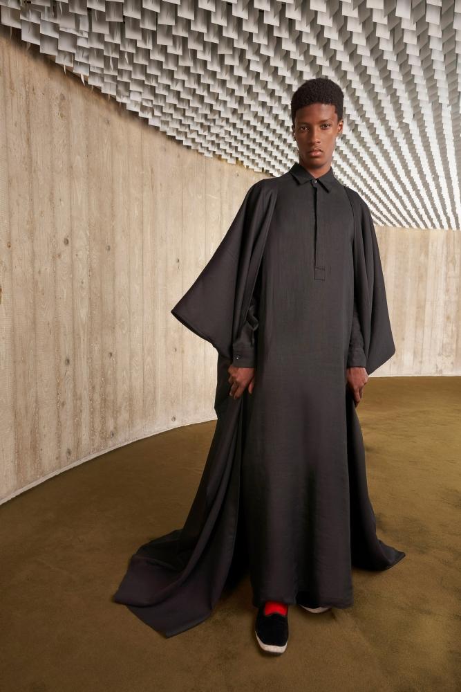 Aboubakar Konte  PFW Haute couture Giambattista Valli fall 2021