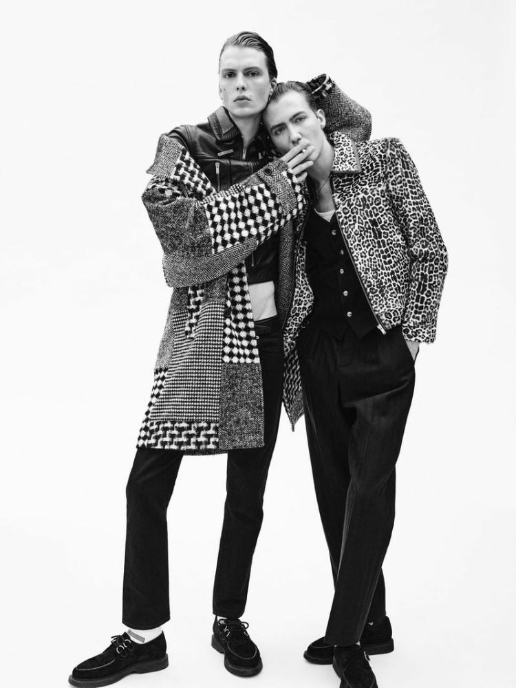 Paul Hameline L'Uomo Vogue boyband the pursuit of excellence issue