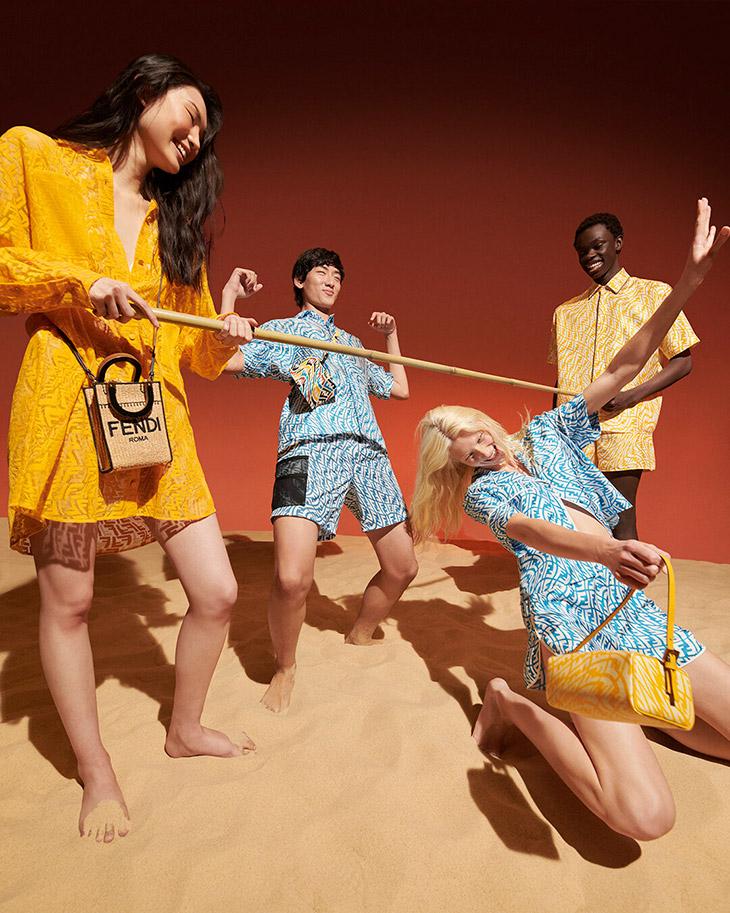 David Ge Fendi vertigo beachwear summer 2021 collection