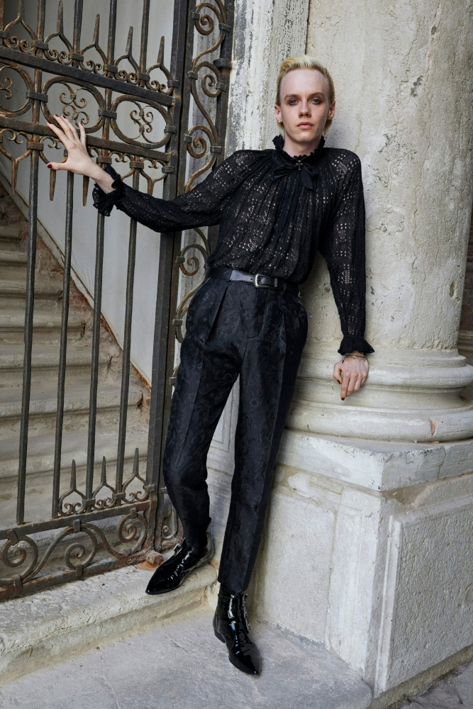 Yves Rohloff Saint Laurent ss22 collection