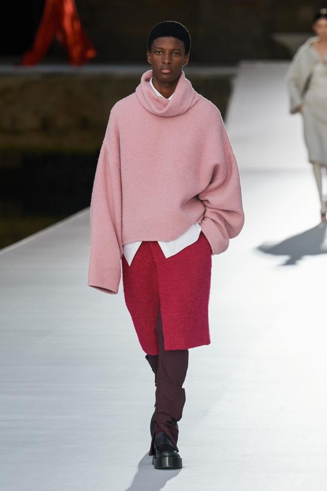 Aboubakar Konte Valentino couture fall 2021