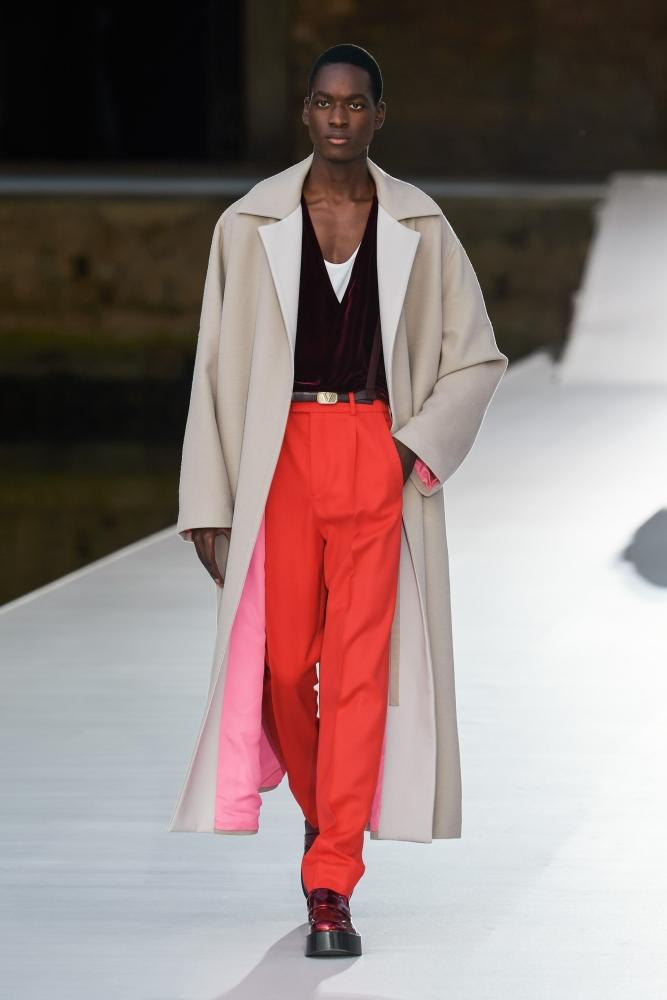 Lassina Karamoko Valentino couture fall 2021