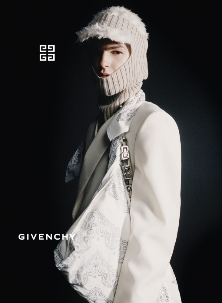 Andy charpentier for givenchy fall 21 campaign