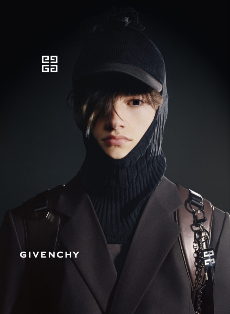 Robin Genissel for givenchy fall 21 campaign
