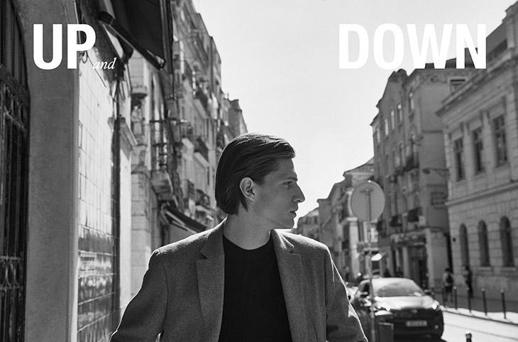 Edoardo Sebastianelli for Massimo Dutti fall/winter 2021 collection Up and Down