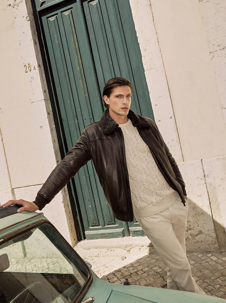 Edoardo Sebastianelli for Massimo Dutti fall/winter 2021 collection - Up and Down