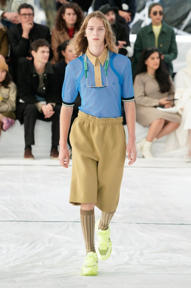 cosme voisin for lacoste ss22