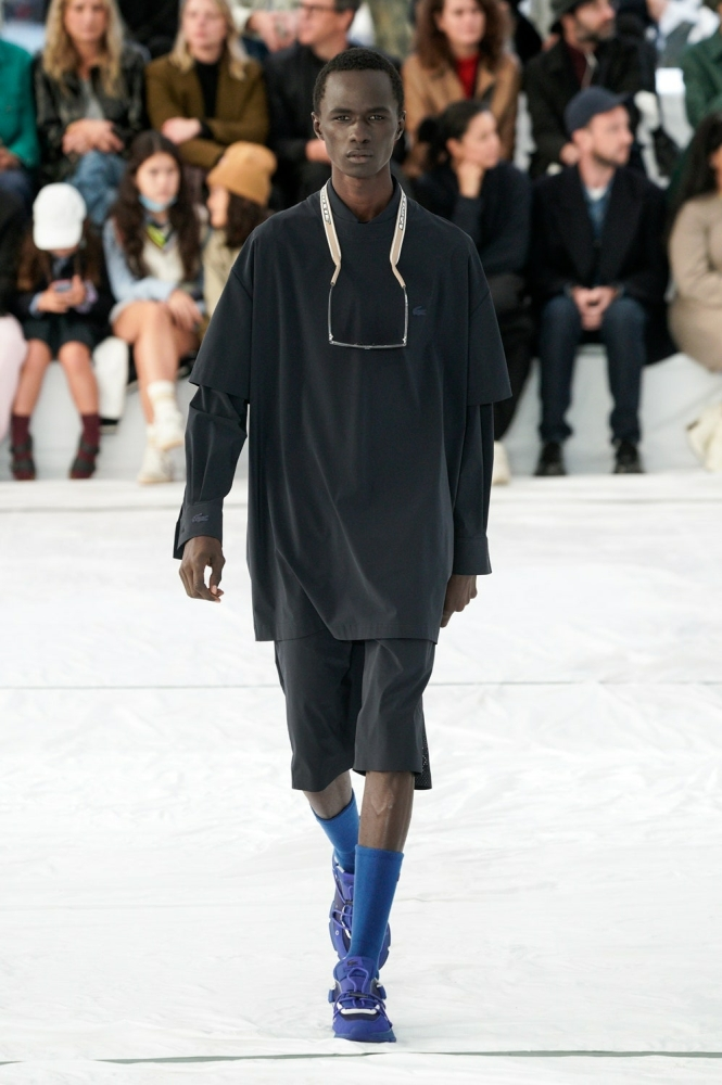 malick bodian for lacoste ss22
