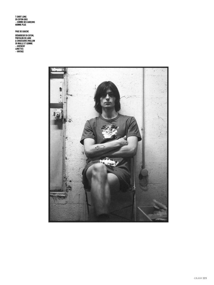 Raoul Uzan for Crash magazine