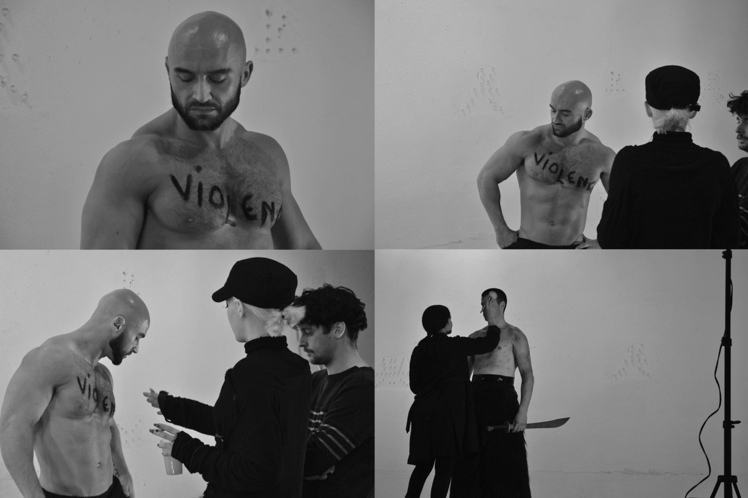 VIOLENCE VIDEO BACKSTAGE