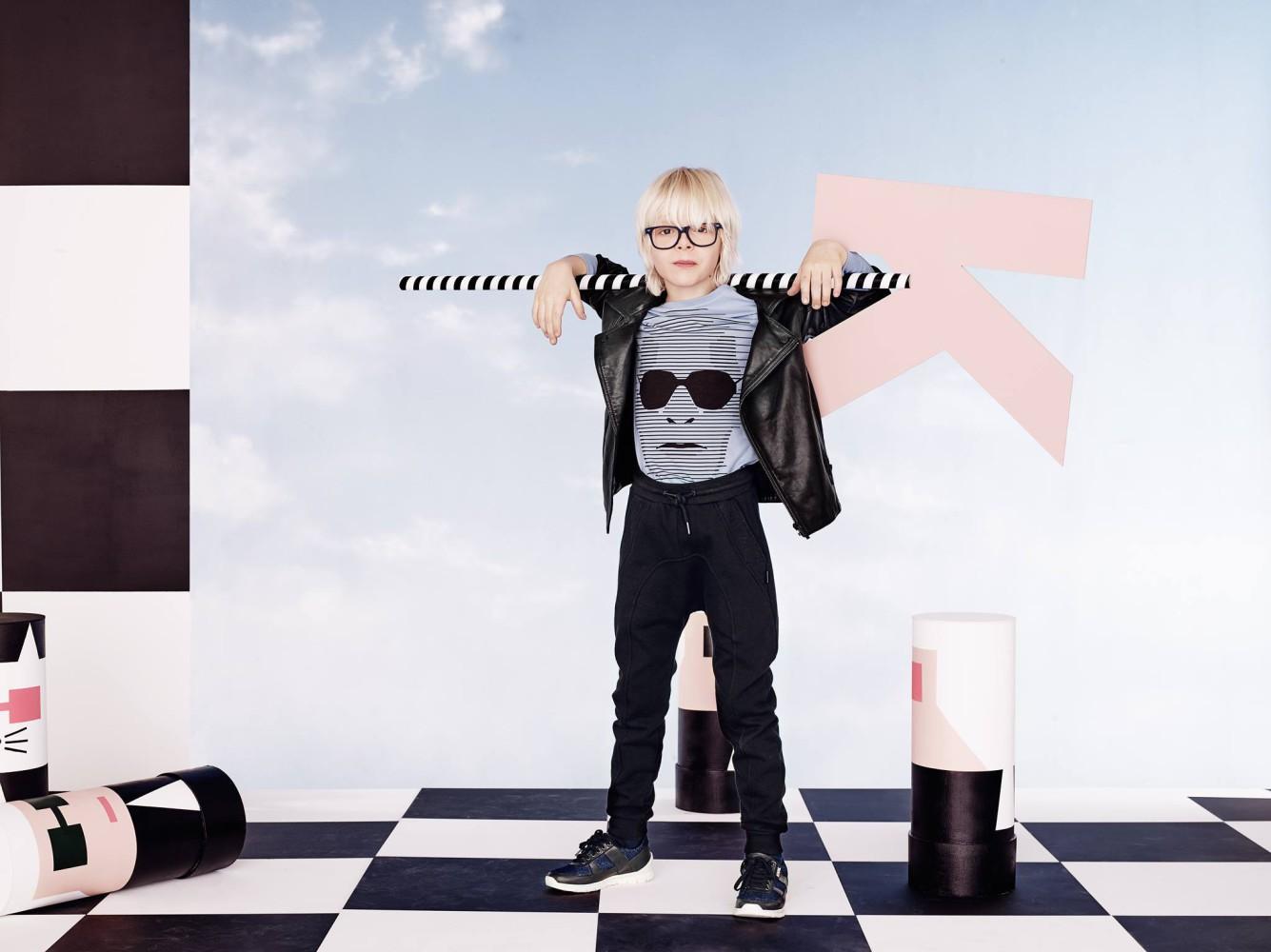Ludivine et Andrea pour Karl Lagerfeld