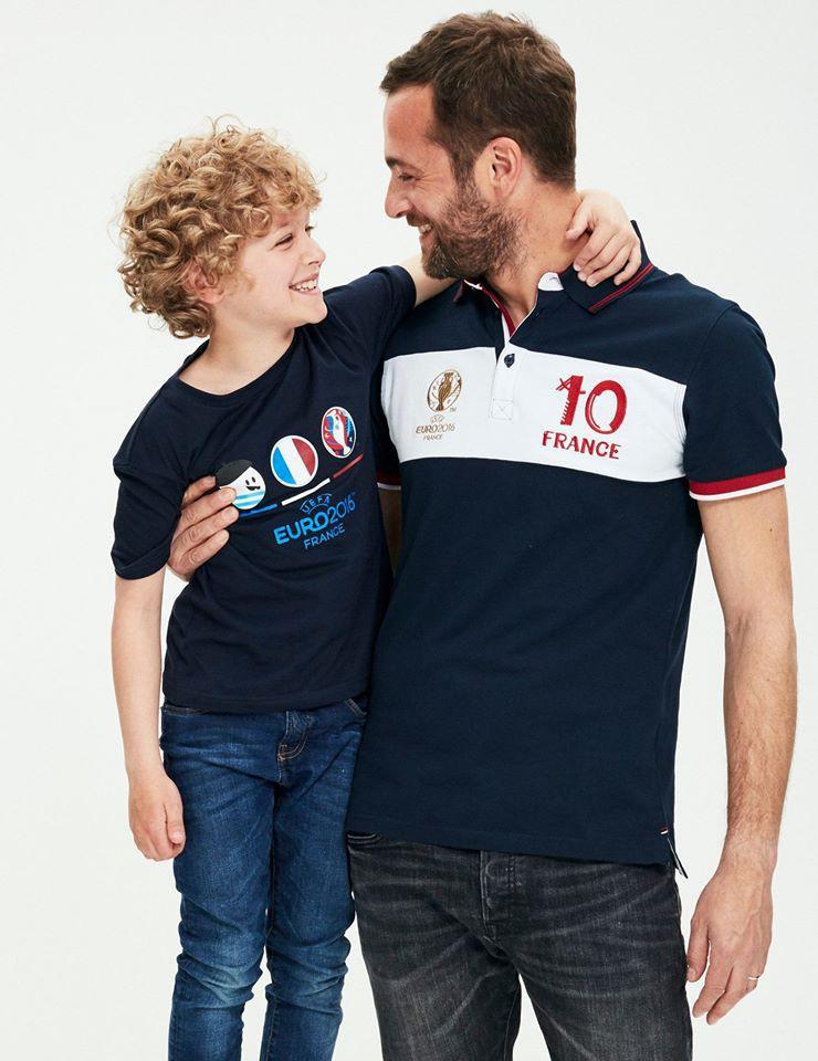 Ambroise, Nils, Ethan, Oliver, Cameron et Léo pour la Fête des pères par Celio