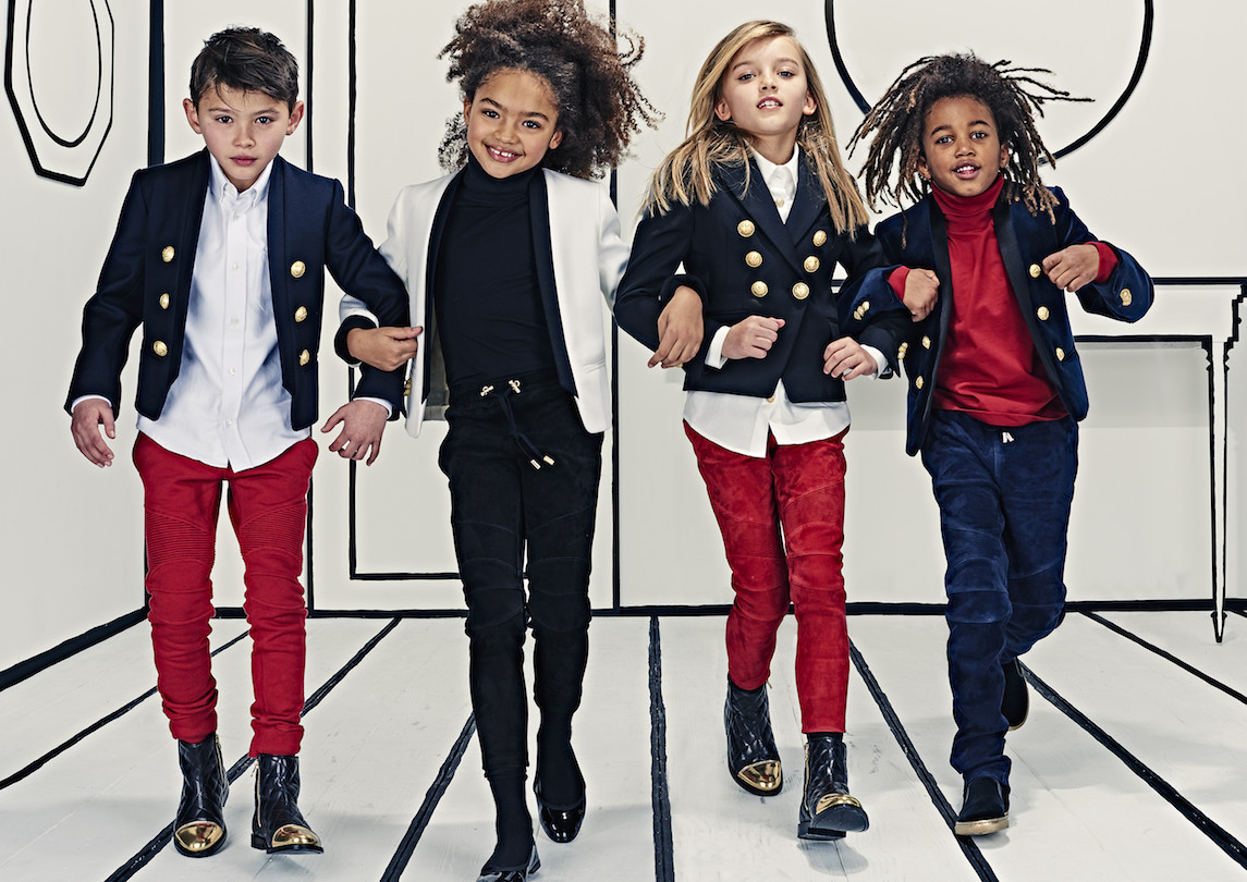 Ines pour Balmain Kids