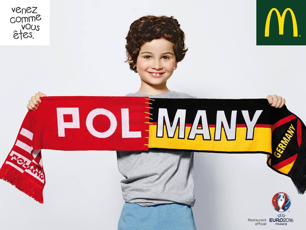 Mathis pour l'Euro 2016 Macdonald's