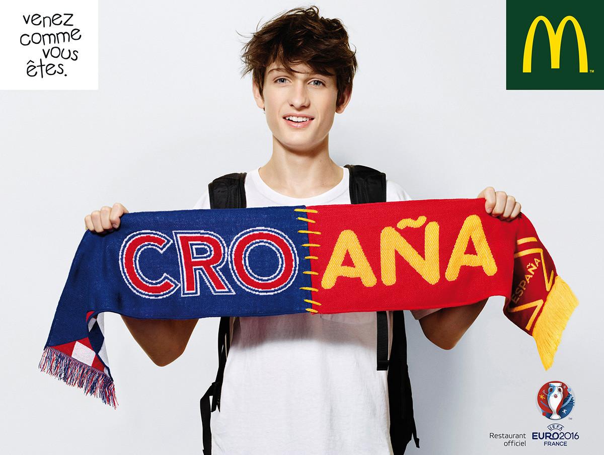 Ethan pour l'Euro 2016 Macdonald's