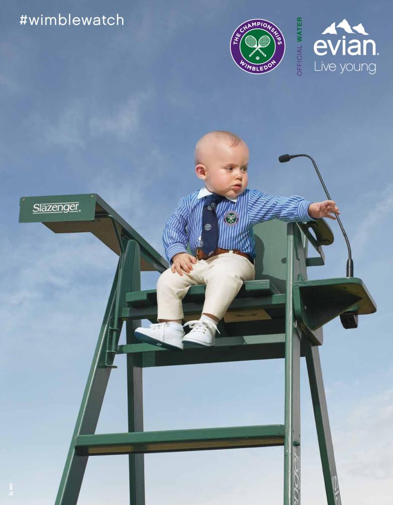 Lukas pour Evian Wimbledon