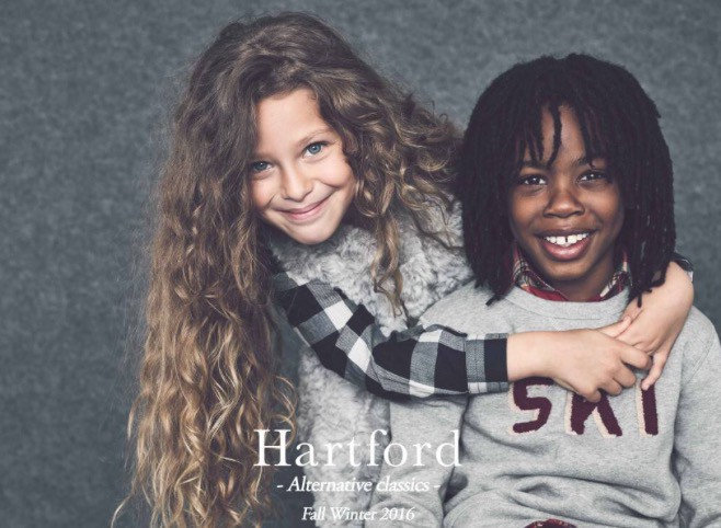 Safya pour Hartford collection Winter 2016