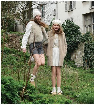 Heidi et Liv pour YAM-Bonpoint A/W 2016
