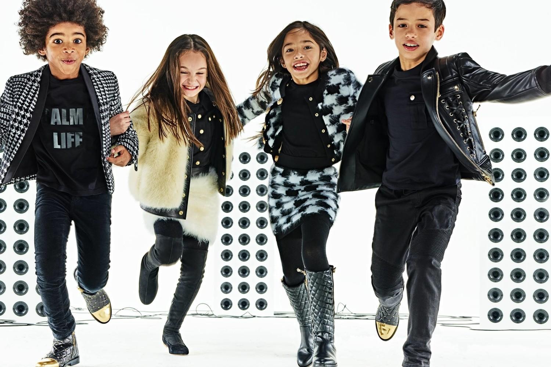 Evann pour Balmain / Kids AH17-18