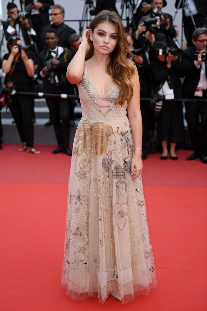 Thylane au Festival de Cannes