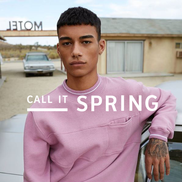 REECE KING : CALL IT SPRING SS17 CAMPAIGN