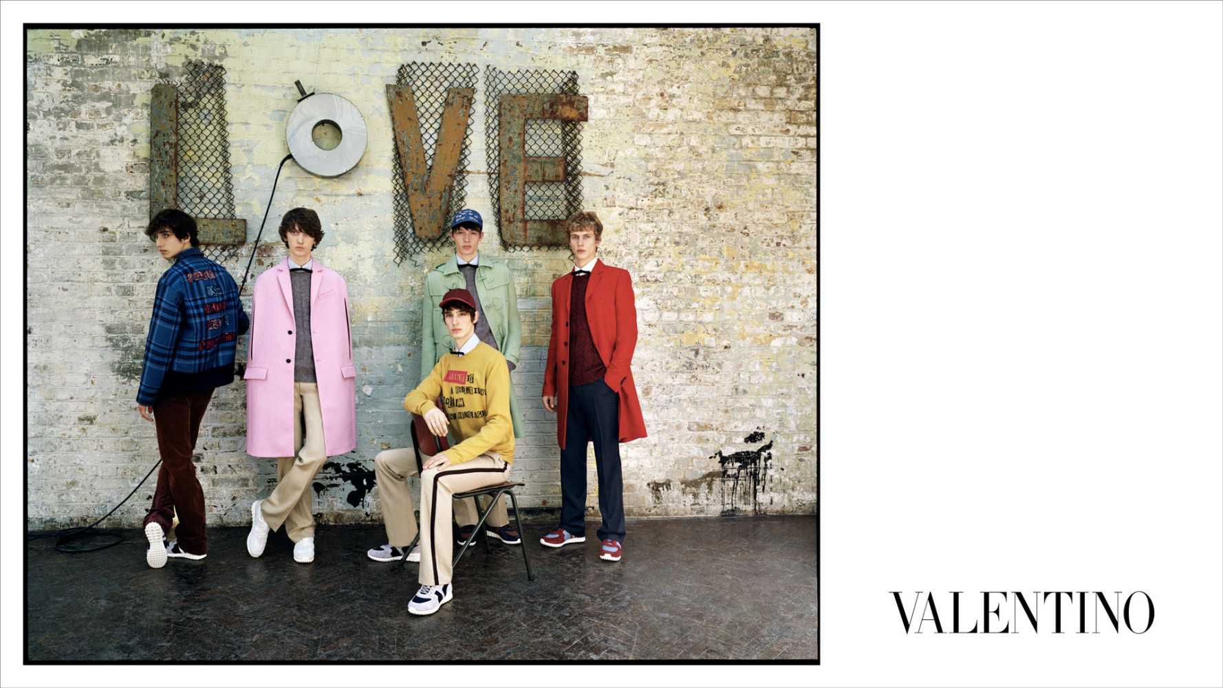 Dylan Fender & Ye Xiang : Valentino Campaign
