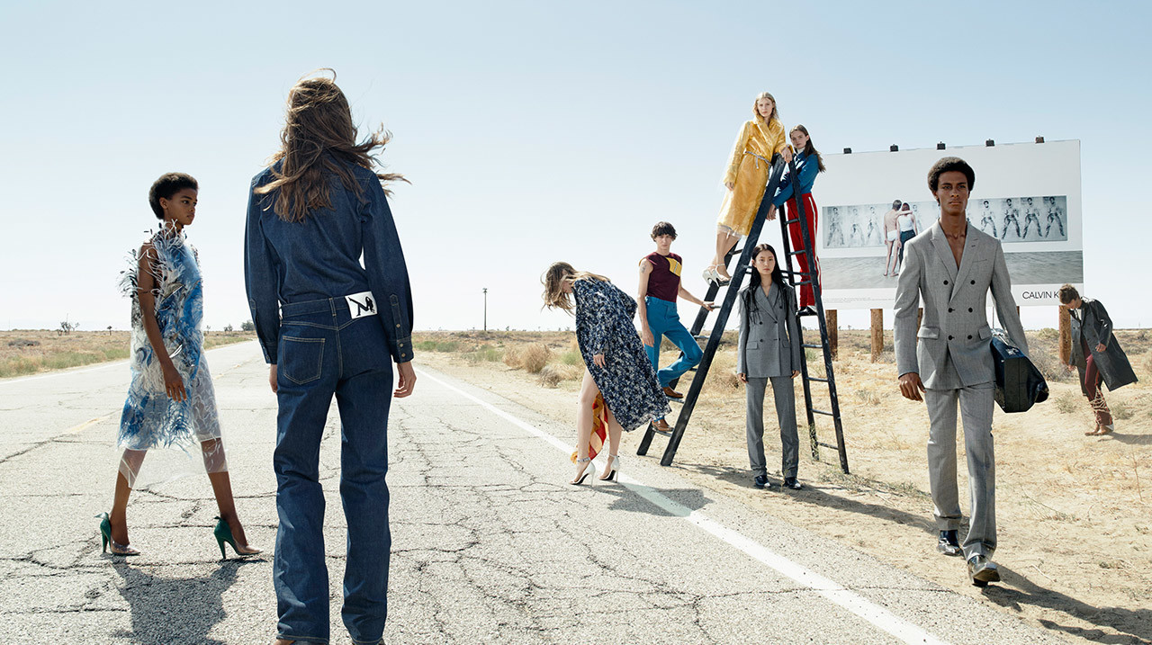 Jared Manhardt : Calvin Klein AW17