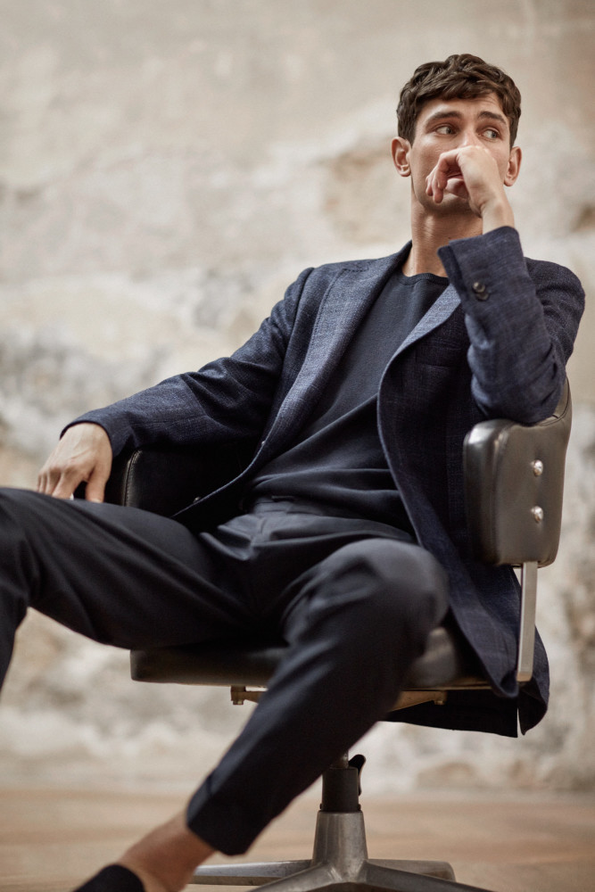 Arthur Gosse : Massimo Dutti