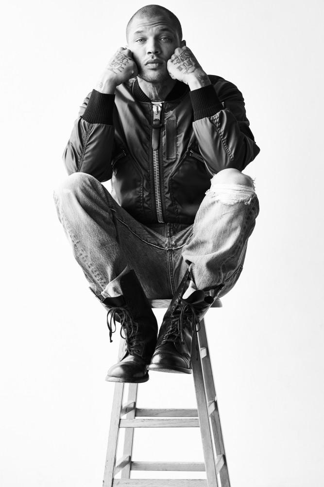 Jeremy Meeks : Varon Magazine