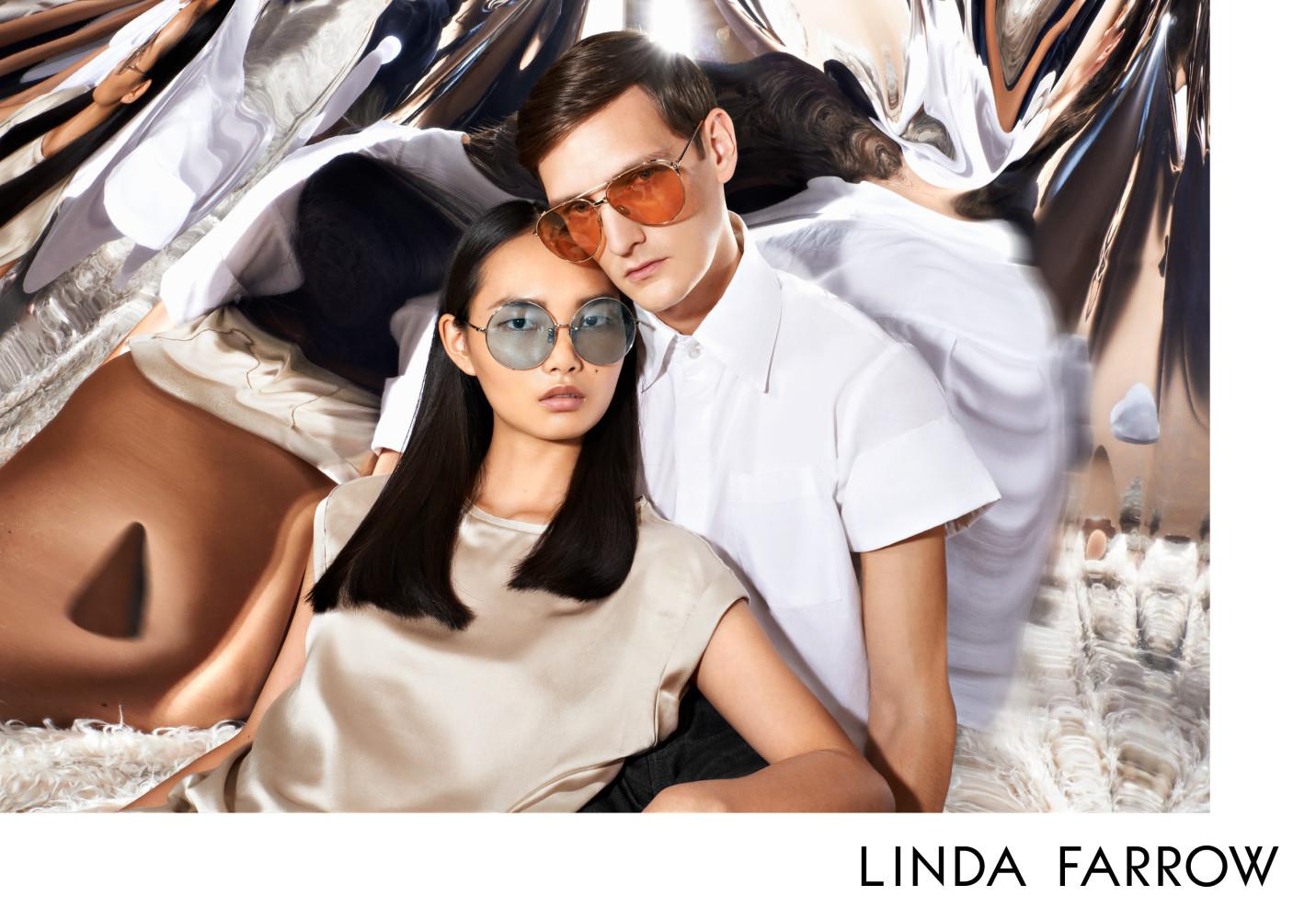 Yannick Abrath : Linda Farrow Eyewear