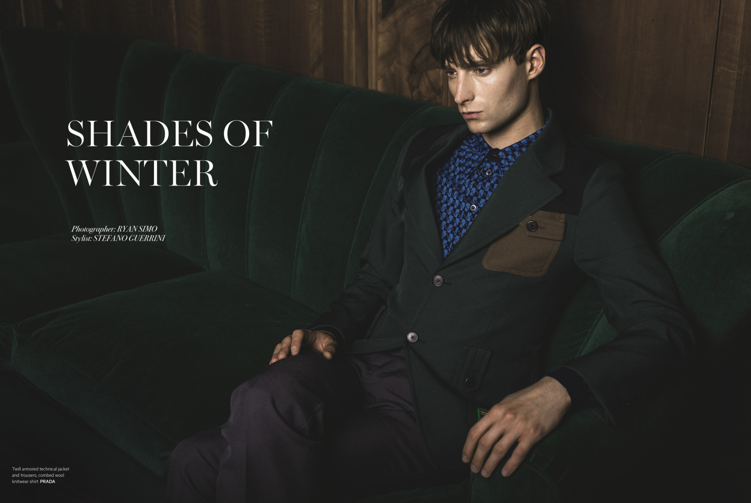 Laurie Harding : L'Officiel Hommes Middle East