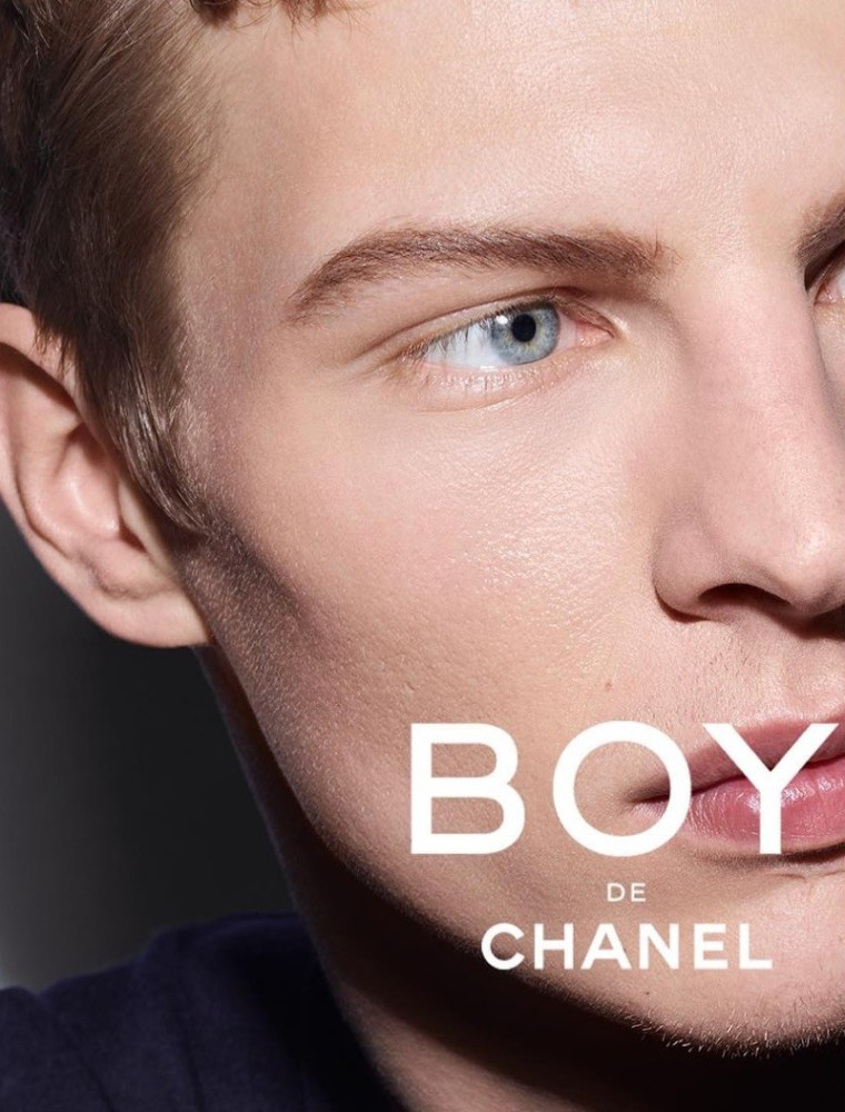 TIM SCHUHMACHER : CHANEL - BEAUTY CAMPAIGN - BOY DE CHANEL