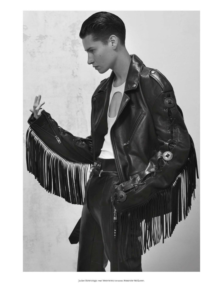 KROW : L'UOMO VOGUE // PHOTOGRAPHY BY COLLIER SCHORR - STYLING BY ROBBIE SPENCER